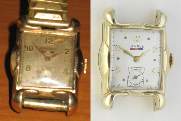 Vintage Benrus Watch Repair Restoration