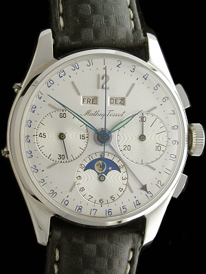 MATHEY TISSOT COMPLICATED CHRONOGRAPH FULL CALENDAR