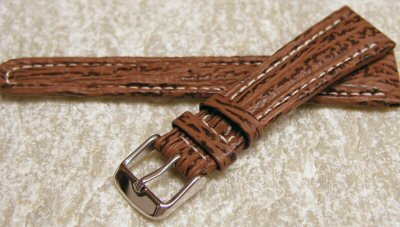 shark skin watch straps
