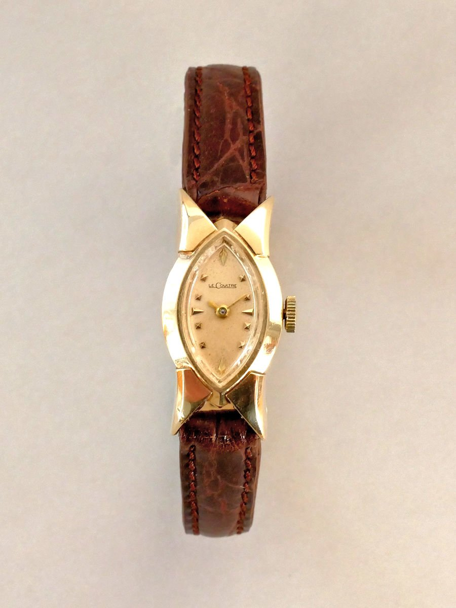 jaeger lecoultre 14k solid gold marquis