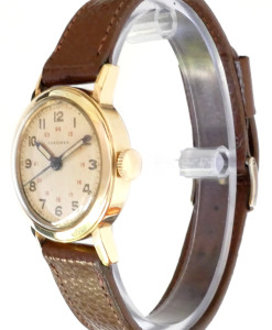 longines-gold-military-watch-side-view