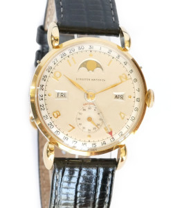 Kingston Mint NOS Vintage Watch with Moonphase